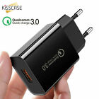 3 Port Fast Quick Charge QC3.0 USB Hub Wall Charger Power Adapter US/EU Plug Hot