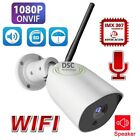 IP66 Two Way Audio IR 65FT WI-FI 1080P Security Bullet Camera Outdoor B02-2MP