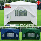 Garden Gazebo Waterproof Party Tent 3*3/3*4/3*6M Outdoor Tent For Hiking Camping