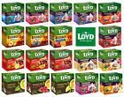 LOYD FRUIT / ROOIBOS / GREEN TEA SELECTION - 20 Silk Teabag Pyramids Per Box