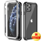 Clear Hard Case For iPhone 11/11 Pro Max 2019 Cover Protective Bumper Hybrid