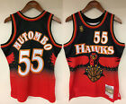 Dikembe Mutombo Atlanta Hawks Mitchell & Ness NBA 1996-1997 Authentic Jersey HWC on eBay
