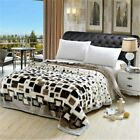Bedding Blanket Double-layer Comfortable Cover Winter Sheet Throw Blankets Thick
