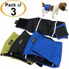 LEAK PROOF Male Dog Diapers Belly Band Wrap Washable Elastic Straps Small Large