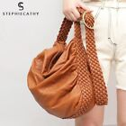 Women Large Soft New Design Casual Wash PU Leather Tote Messenger Handbag