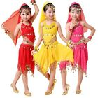 Kids Belly Dancing Costume Girls Indian Halloween Festival Performance Outfit