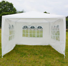 3x3m Gazebo Marquee Party Tent With Sides Waterproof Garden Patio Outdoor Canopy