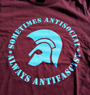 Trojan - sometimes antisocial - always antifascist T-Shirt S-XXL