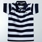 Men Summer Polo Plus Size 6xl 7xl 8xl Casual Cotton Striped Big&Tall T-Shirts