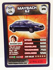 Top Gear Turbo Challenge Rare Cards Series 426