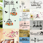 Vinyl Home Room Decor Art Quote Wall Decal Sticker Bedroom Removable Mural Pl