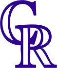 "Colorado Rockies MLB Decal ""Sticker"" for Car or Truck or Laptop"