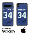 Toronto Maple Leafs Auston Matthews Samsung iPhone Jersey Case Facsimile Auto $18.5 USD on eBay