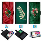Minnesota Wild Sliding Flip Case For Samsung Galaxy S7 S8 S10 S10e P $9.49 USD on eBay