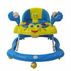 Baby walker First Steps Push Along Bouncer Activity Music Ride on Car Toy Melody