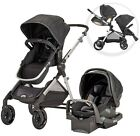 Evenflo Infant Car Seat Stroller Travel System Pivot Xpand with SafeMax