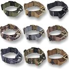K9 HEAVY DUTY Dog Tactical Collar Handle Military Army Training Medium Large Pet