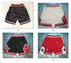 Chicago Bulls NBA Basketball Shorts Men's Pants NWT Stitched 4 Colors on eBay