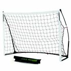 QuickPlay Kickster Academy Portable Soccer Goal Includes Soccer Net and Bag