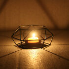 American Retro Iron Tea Light Candle Holder Candlestick Lamp Lantern Home Decor