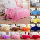 Home Warm Soft Solid Mink  Throw Large Fleece Sofa Bed Blanket Double King Size image