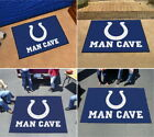 Indianapolis Colts Man Cave Area Rug Choose from 4 sizes $48.89 USD on eBay