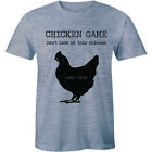 Chicken Game Don't Look At This Chicken Game Over - Funny T-shirt Tee