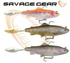 New Savage Gear Fishing Lures 4D TROUT SPIN SHAD 11cm  Predator Perch Pike Bass