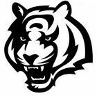 nfl015 Cincinnati Bengals Tiger Die Cut Vinyl Graphic Decal Sticker NFL Football $16.49 USD on eBay