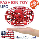 US 360  Mini Drone Smart UFO Aircraft for Kids Flying Toys RC Hand Control Gift-