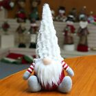 Holiday Gnome Handmade Christmas Elf Decoration Ornaments Thanks Giving Day Gift
