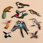 Bird Badges Embroidered Iron on Patch Animal Emblems Clothes Hat Pants DIY Logos $1.46 USD on eBay