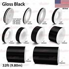 Gloss Black Roll Vinyl Pinstriping Pin Stripe Car Motorcycle Tape Decal Stickers