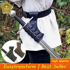 Medieval Vintage Leather Scabbard Sword Holder Knight Weapon Loop Larp Cosplay