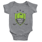 Daddy's Little Caddy 1 Babygrow Funny Joke Golfing Dad New Baby Boy Gift