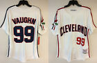 Major League Cleveland Indians Rick Vaughn Wild Thing Movie Authentic Jersey
