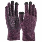 Winter Knit Gloves Touchscreen Warm Thermal Men Women Windproof Mittens Gloves