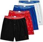 Polo Ralph Lauren 4 Pack KNIT BOXERS Classic Reinvented Underwear  NWT