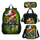 Ghostbusters Backpack Insulated Lunchbox Sling Bag Pen Case Kids Xmas Gifts Lot