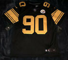 TJ Watt Pittsburgh Steelers Color Rush Limited Jersey AUTHENTIC L