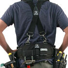 Gatorback B140 Carpenters Tool Belt and Suspenders Combo. Various Sizes (S - 3XL)