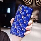 Luxury 3D Diamond Phone Case Rivet Transparent Silicone Protection iPhone Cover