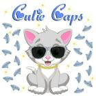 Cutie Caps 40 pack Sterling Silver Glitter Soft Nail Guard for Cat Paws / Claws