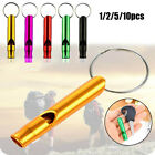 with Keyring Emergency Whistles Survival Whistle EDC Tools Training Accessories