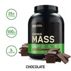 OPTIMUM NUTRITION SERIOUS MASS (6 LB) weight gainer whey protein amino energy on $36.95 USD on eBay