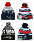 New England Patriots Cuffed Beanie Knit Winter Cap Hat NFL Authentic $21.99 USD on eBay