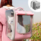Breathable Pet Cat Carrier Backpack Tansparent Travel Bag Cage Carriers Crates
