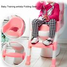 Baby Toddler Potty Training Step Trainer Kids Toilet Seat Ladder Safety MX