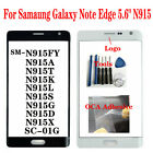 OEM For Samaung Galaxy Note Edge 5.6* N915 SC-01G Outer Front Screen Glass Lens