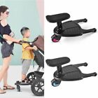 Stroller Pedal Adapter Second Child Auxiliary Trailer Standing Plate With Seat